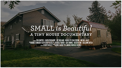 Magnificent Download Small Is Beautiful A Tiny House Documentary Largest Home Design Picture Inspirations Pitcheantrous