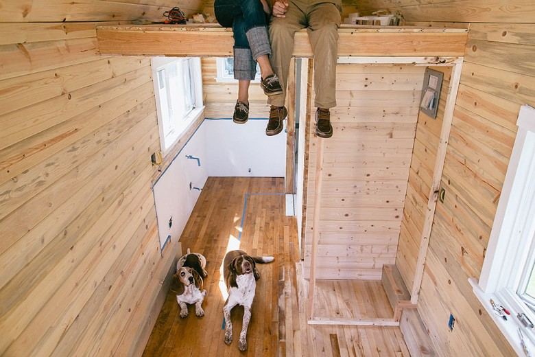 Couple_with_Dog_inside_tiny_house