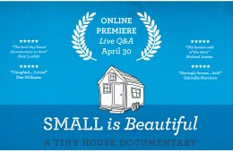 Live Q&A Small is beautiful Tiny House Documentary