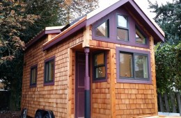 beautiful tiny house in seattle exterior