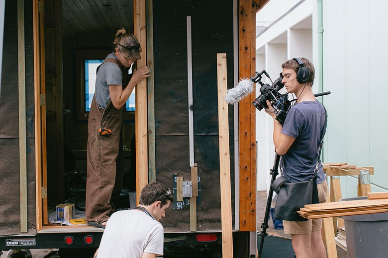 Jeremy_Filming_Small_is_Beautiful_Dee_williams_ben_campbell