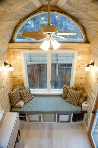 Tiny house window seat